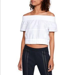 New Under Armour Women's Uas Off Shoulder Shirt